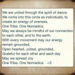 Nomadica prayer