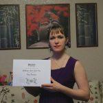 Irina, CS1 certificate